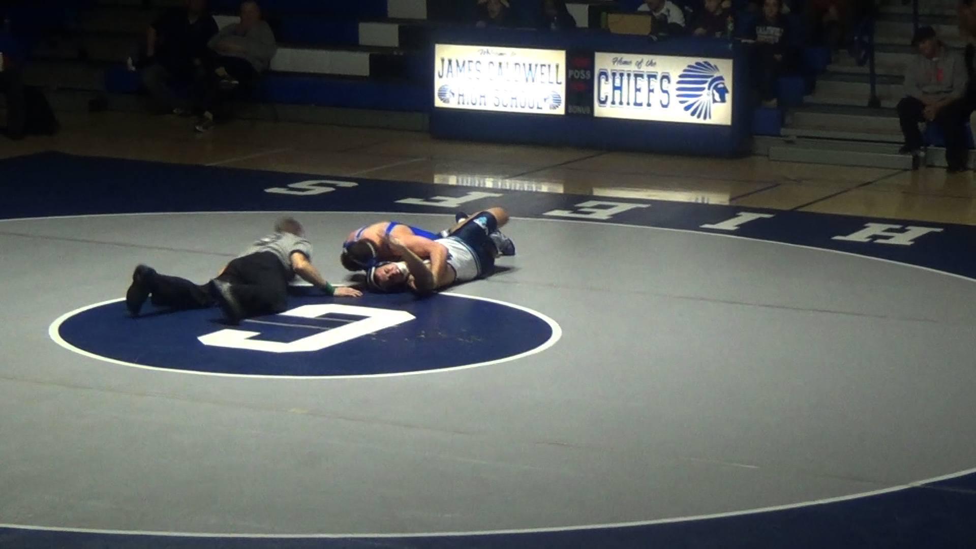 Wrestling - VIDEO: Wayne Valley jolts Paramus to win first wrestling